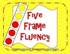 This is a counting to 5 activity using 5 frame boxes. Your child ...