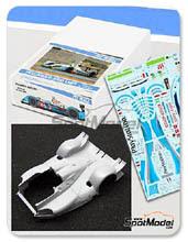 Transkit 1/24 Pit Wall - Pescarolo Judd LMP1 PlayStation - Nº 16 - 24 Horas de Le Mans 2009 para kit de SimilR 151105