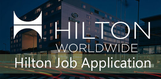 Hilton Job Application Form 2018 | Job Application Center