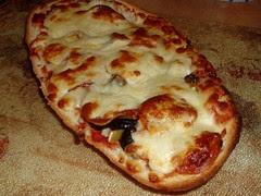 Super Stuffed French Bread Pizza Rustica