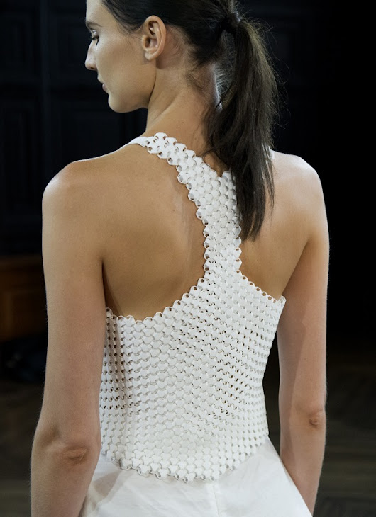 3D printed textiles star on the runway at New York Fashion Week | Top 4 3D Printing