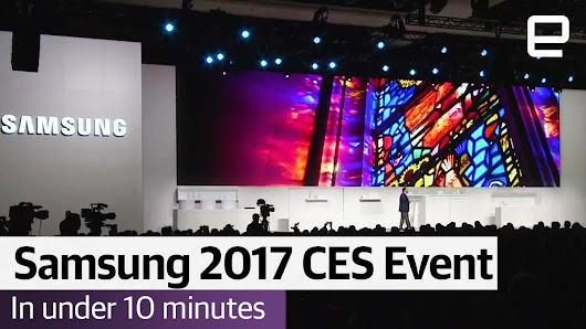 "Engadget on Twitter: ""Everything you need to know about Samsung's CES 2017 Event """