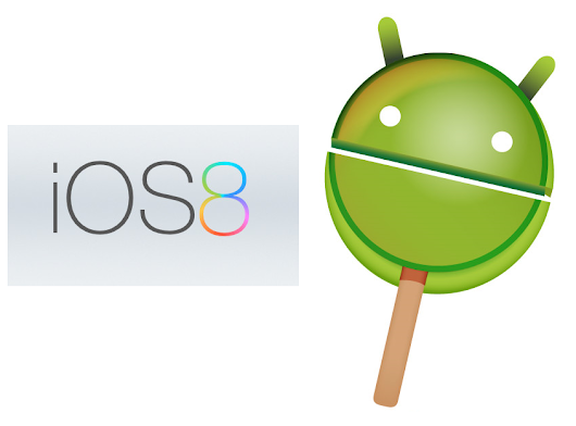 Rumours about Apple iOS 8 and Google Android 4.5/5.0