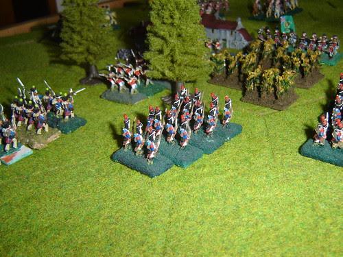 Attack on Hougomont begins