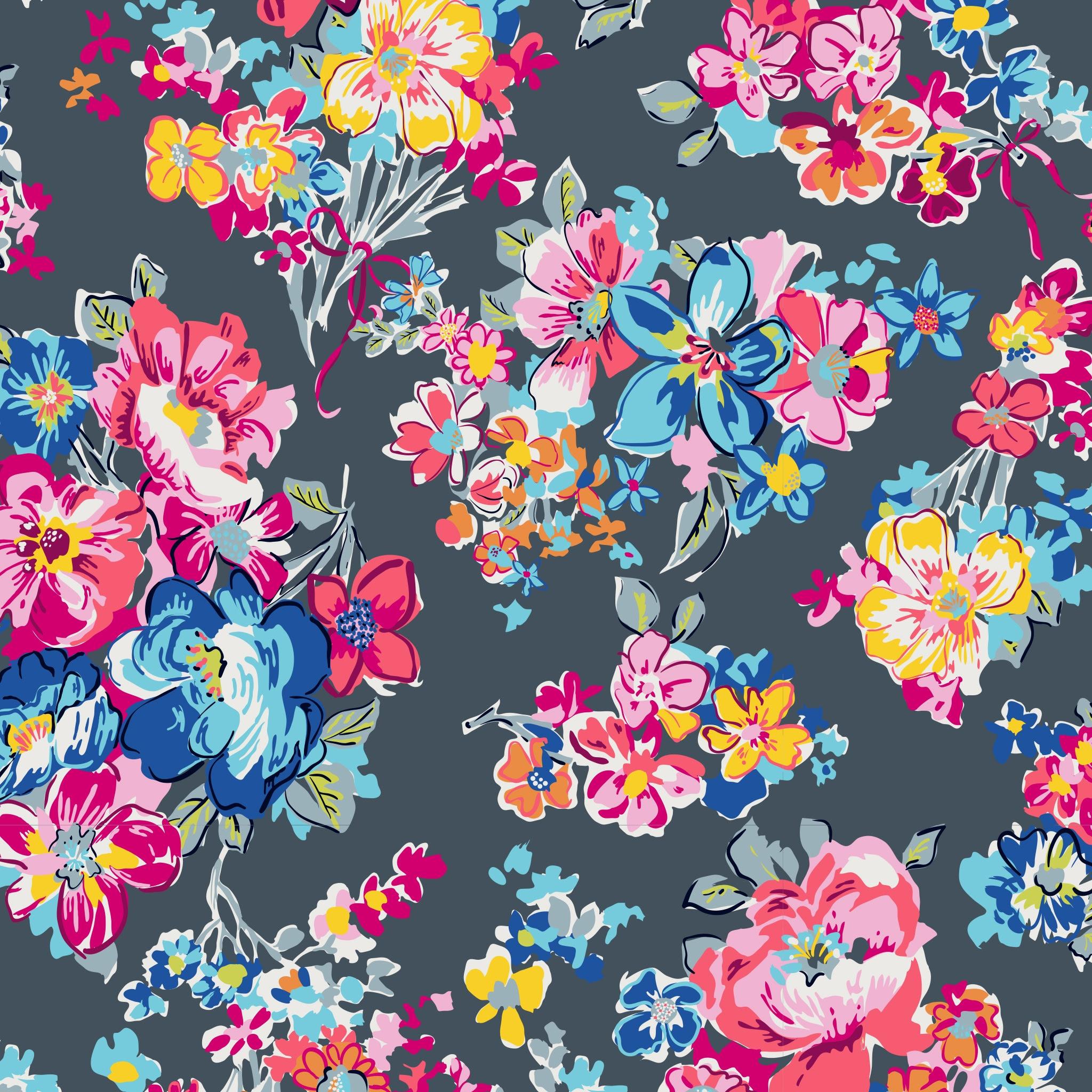 New Pattern Sneak Peek Pretty Posies Spring 2019 Vera Bradley