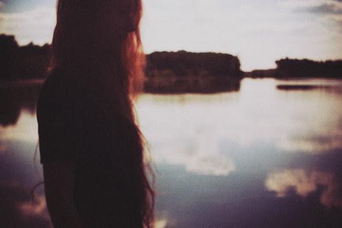 sunset with Sandra