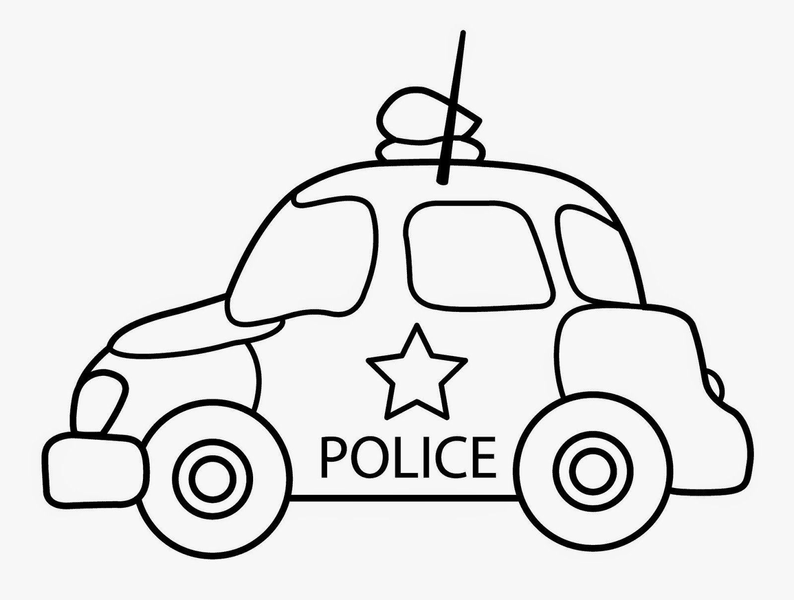 560 Top Police Car Coloring Pages Toddlers , Free HD Download