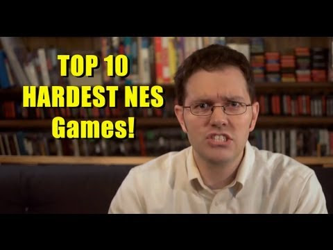 Seriously Funny Videos: Top 10 Hardest NES Games of All Time - By the Angry Video Game Nerd - Cinemassacre