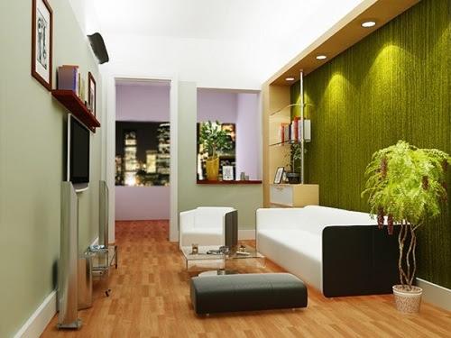 Natural Living Room Design - Interior design