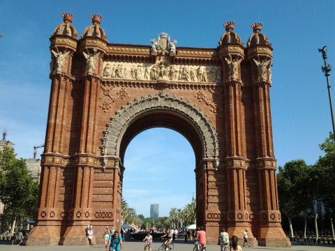 Барселона, Триумфалната арка