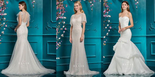 Introducing... Ellis Bridals Wedding Dresses 2018 - All New To Molly Browns! by Molly Browns