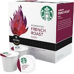 Starbucks French Roast Dark Coffee K-Cups - 16 count, 6.7 oz box