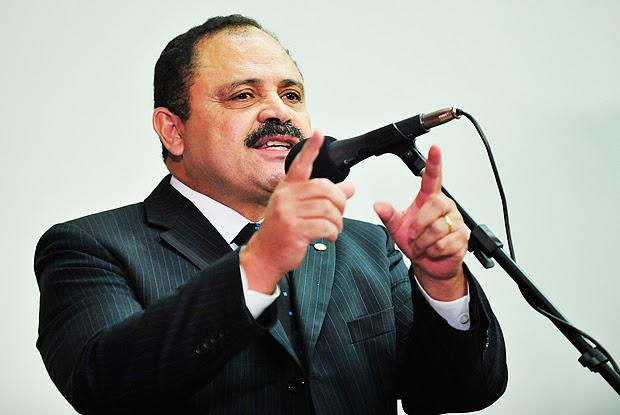 Deputado Waldir Maranhão (PP-MA), presidente interino da Câmara, que decidiu anular o processo do impeachment