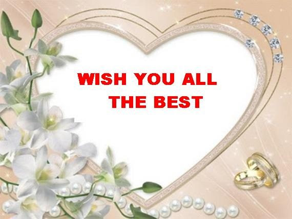 Wish you all best