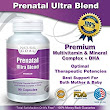 Amazon.com: Prenatal Vitamins Ultra Blend - Complete Multivitamin & Mineral Complex For Pregnant Women and Nursing Mothers - Includes DHA - The Safest & Best Prenatal Vitamins - 90 Convenient Softgels - Lifetime 100% Satisfaction Money Back Guarantee: Health & Personal Care