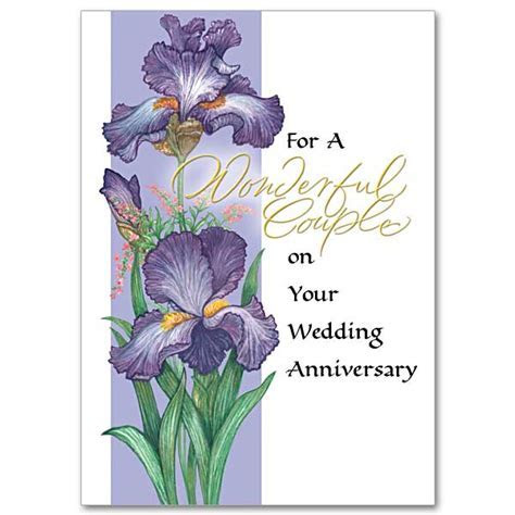 For a Wonderful Couple on Your Wedding Anniversary