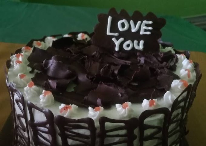 Resep Black forest mini