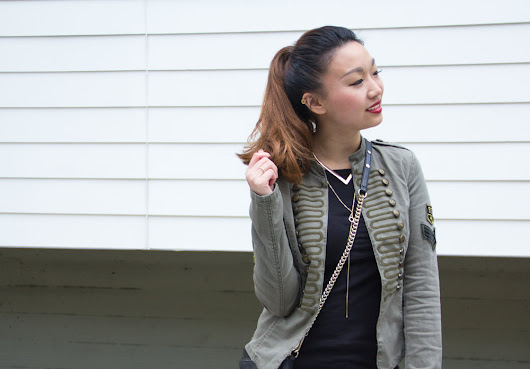 Military Chic | Only Band Jacket