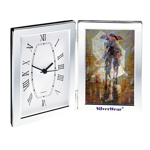 Desk Clock Photo Frame Clocks With Logo Q353311