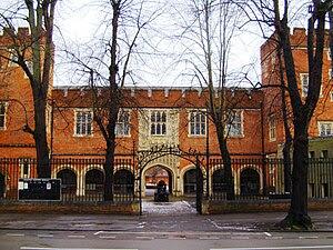 Eton College: the cannon.