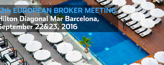 We are now selling the last 100 places for the 12th European Broker Meeting, reply to register or register online now!
