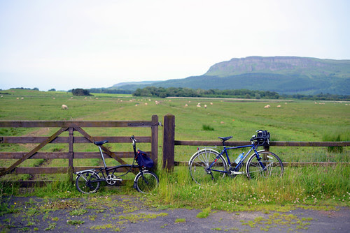 Bikes and Binevenagh