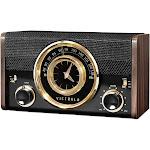 Victrola Bluetooth Analog Clock Radio