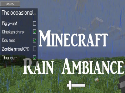 Play 2d Minecraft Rain Ambiance Ver 1.1 Game Online
