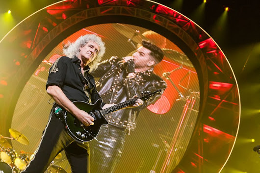 Queen + Adam Lambert Fotos – Lanxess Arena in Köln 2015