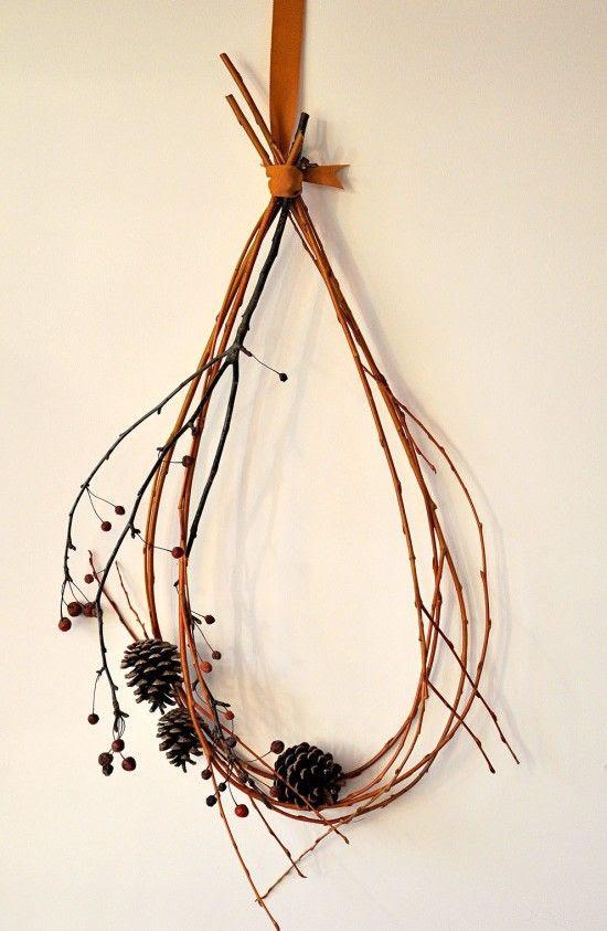 twig wreath.