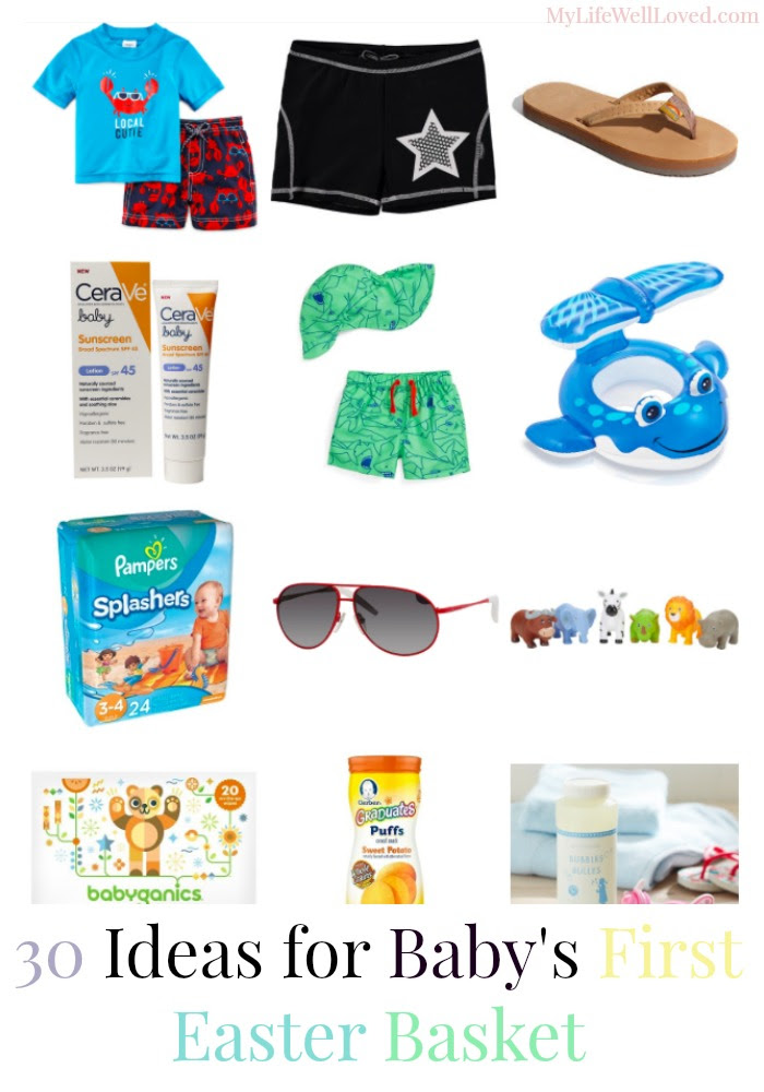 Easter Basket Ideas For 6 Month Old My Life Well Loved
