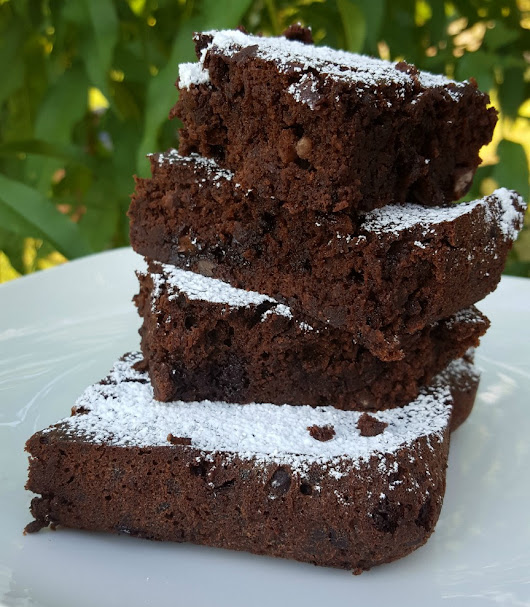 The BEST Black Bean Brownies You Will EVER Eat! AND, They're Gluten-Free!