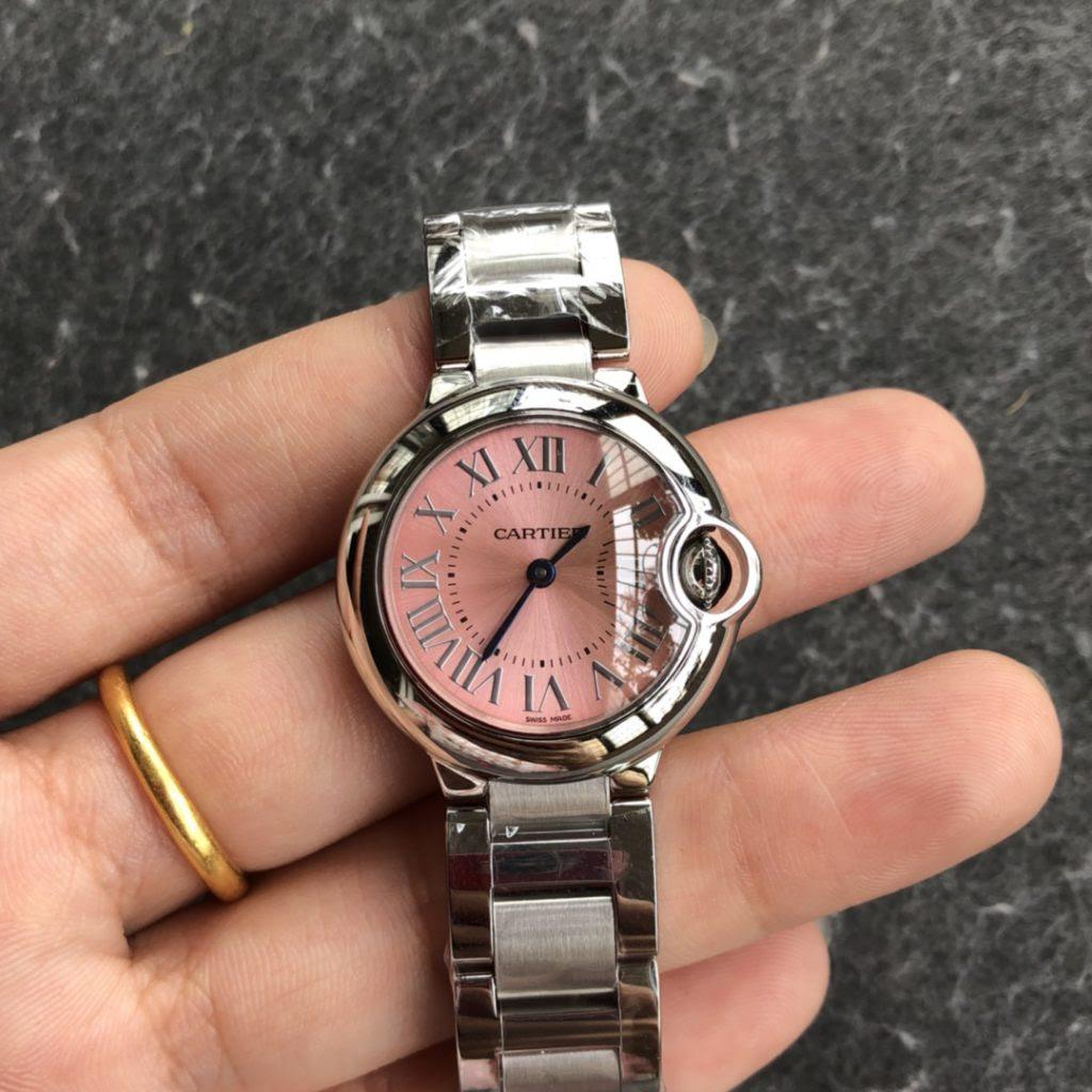 Cartier Lady Quartz Pink Watch