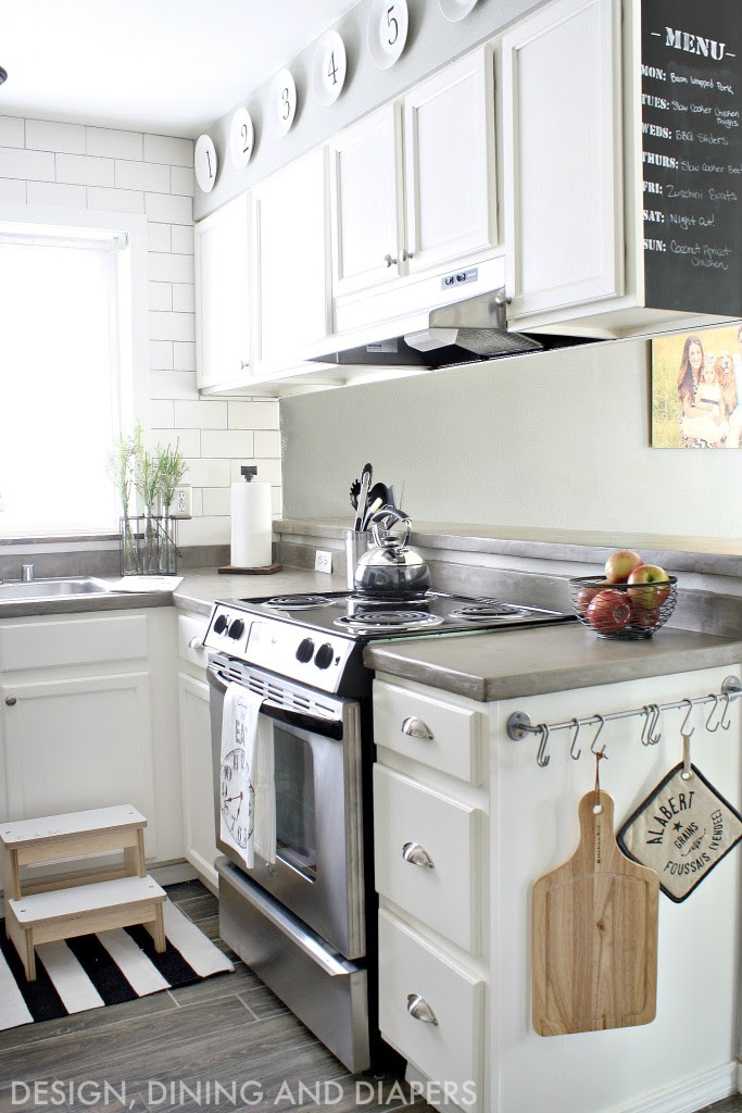 How to Update a Kitchen for $300 • Our Storied Home