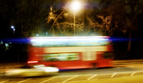 anamorphically flared bus