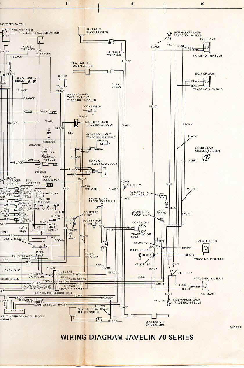 Diagram 1972 Amc Javelin Wiring Diagram Full Version Hd Quality Wiring Diagram Sgdiagram18 Japanfest It