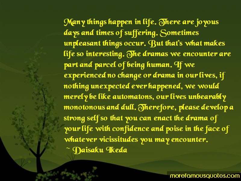 Quotes About Things In Life Being Unexpected Top 3 Things In Life