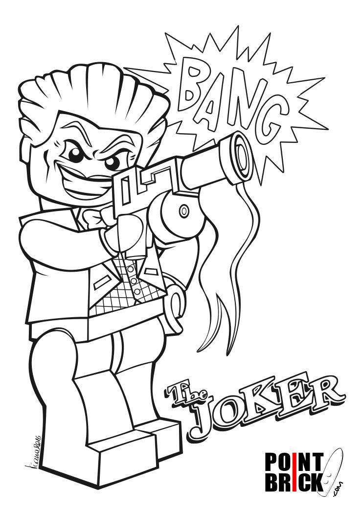 Point Brick Blog Disegni Da Colorare Lego Dc Harley Quinn E Joker