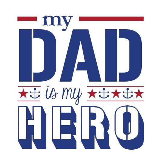 My Dad Is My Hero Navy Door Kristin Ward Blurb Boeken Nederland