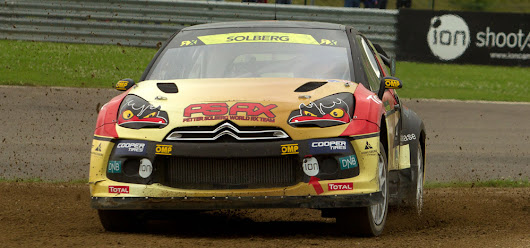 Q&A with Petter Solberg and Pontus Tidemand at World RX in Belgium