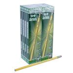 Ticonderoga Woodcase Pencil - #2 Pencil Grade - Black Lead - Yellow Barrel - 96 / Pack (DIX13872)