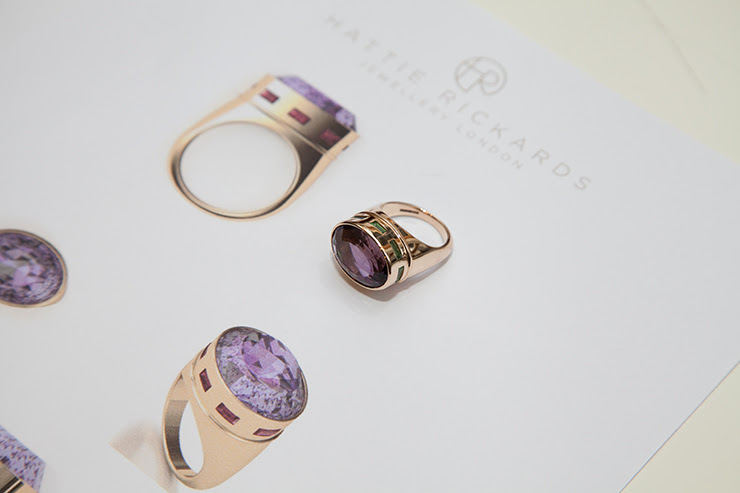 Hattie Rickards bespoke jewellery - In Detail