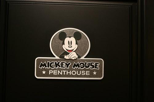 Mickey Penthouse entrance