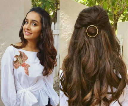 Shraddha Kapoor sexy: Hot hair accessory: Shraddha Kapoor's gold ...