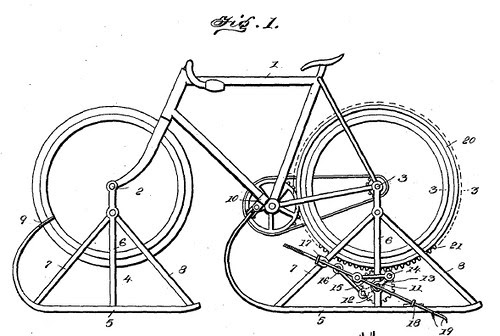 Snow Bike Patent - 1900