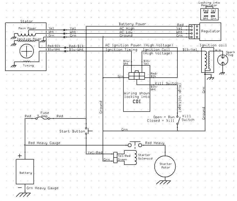 Aamidis Blogspot Com  Wiring Diagram Honda Sonic 125