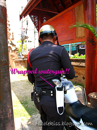 police during songkran