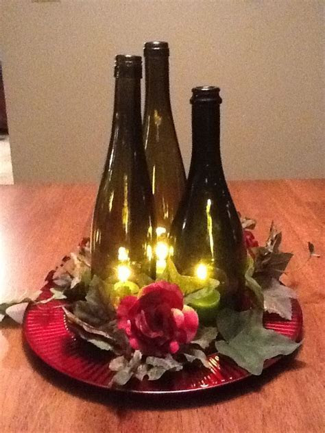 25  best ideas about Wine Bottle Flowers on Pinterest