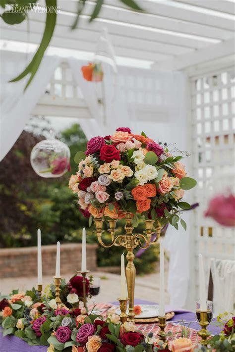 Glamorous Spanish Wedding Theme   ElegantWedding.ca