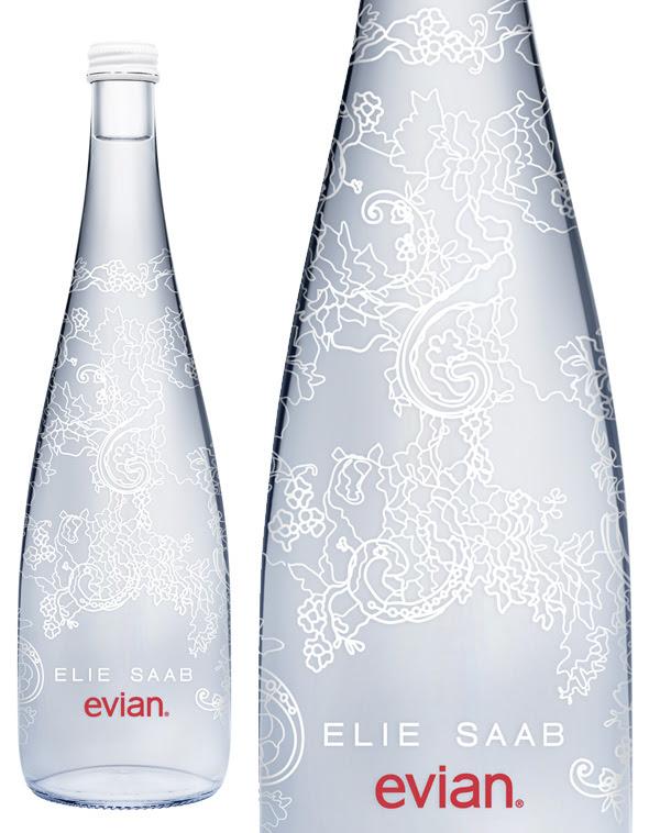 Evian Edition Limitee Noel 2014 Noel 2013 2 Evian Edition Limitée 2014 : Inspirée par A Lace Garden dElie Saab (video)
